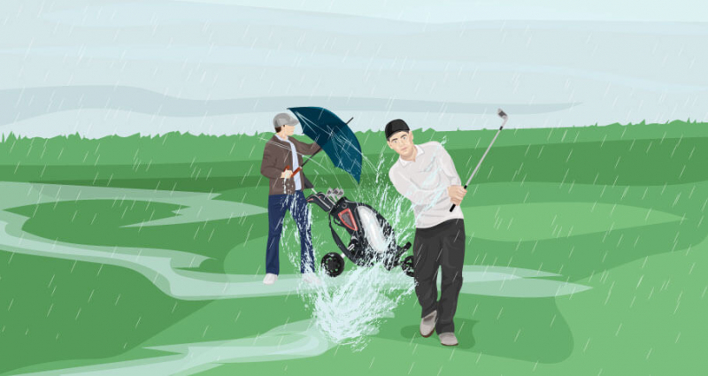 How-to-Play-Golf-in-the-Rain