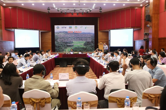 The seminar received the participation of many international organizations, the Vietnamese forest protection community, experts and managers.