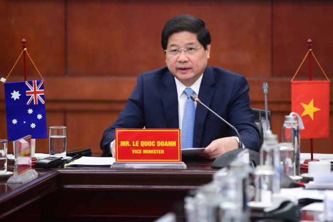 Deputy Minister Le Quoc Doanh of Vietnam Agriculture and Rural Development (MARD). Photo: Tung Dinh.