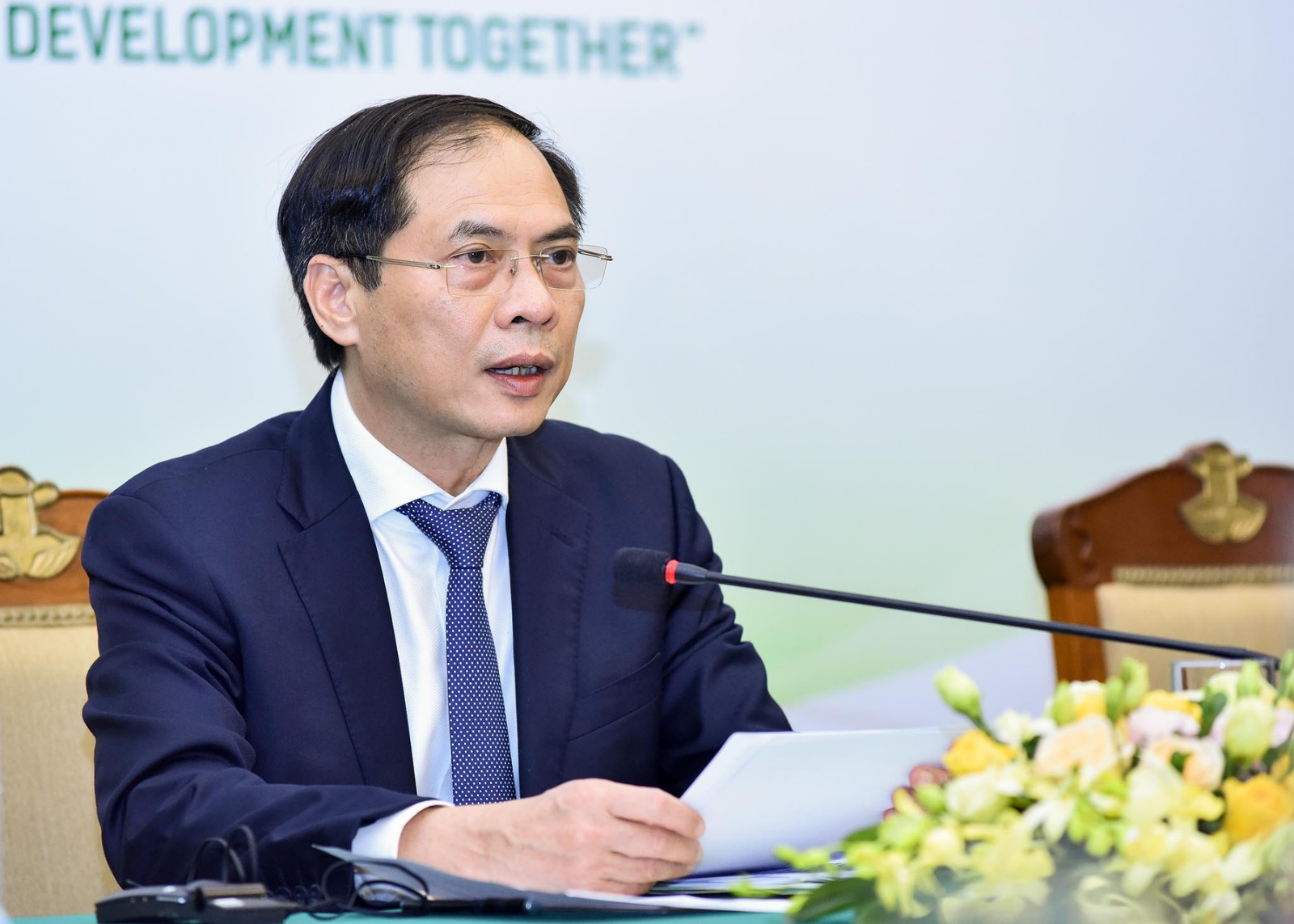 'Vietnam considers agriculture a key sector of the economy', said Minister Bui Thanh Son.