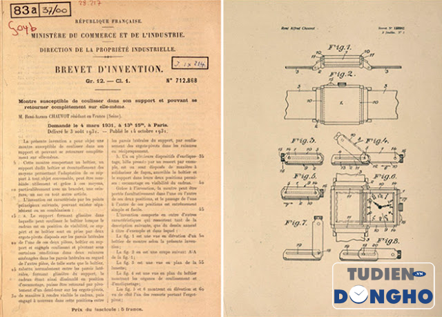 Reverso patent and drawings