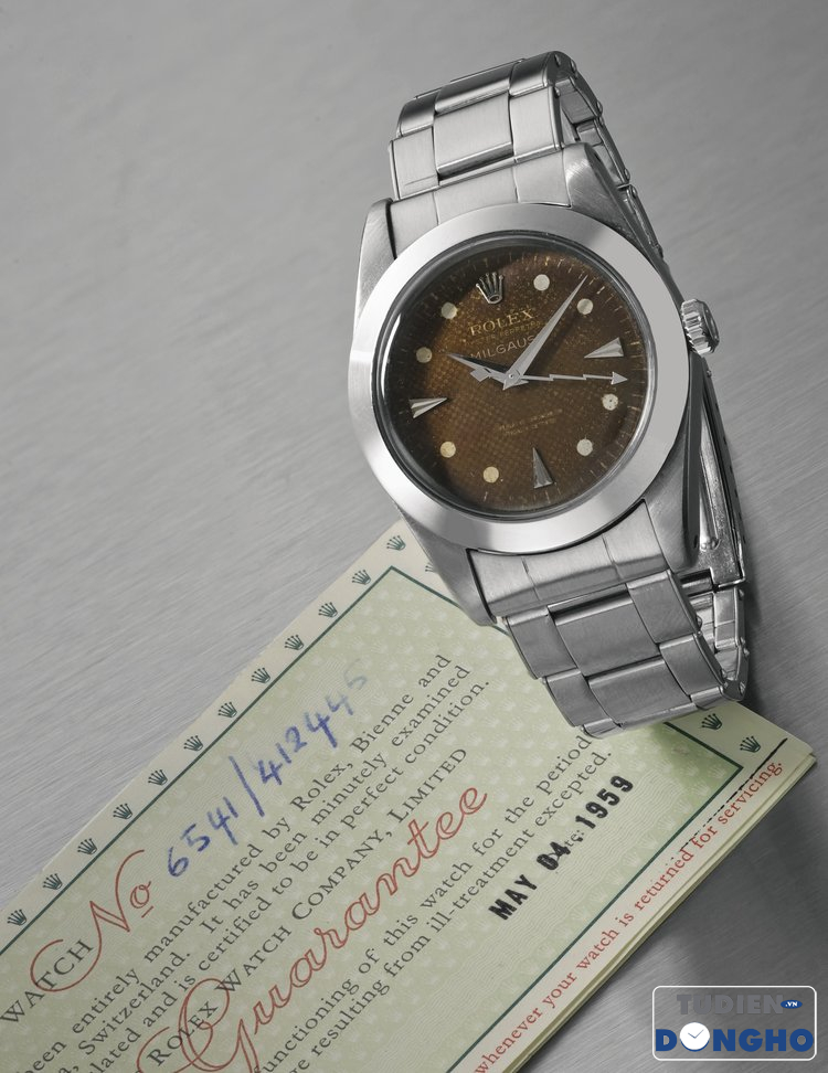 Rolex+Milgauss+Ref.+6541+with+smooth+bezel+for+American+market+circa+1959+sotheby's